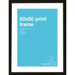 Marco Prints Negro 60x80cm