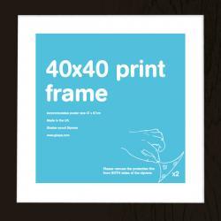 Marco Prints Negro 40x40