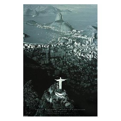 Poster Rio De Janeiro Cristo Redentor
