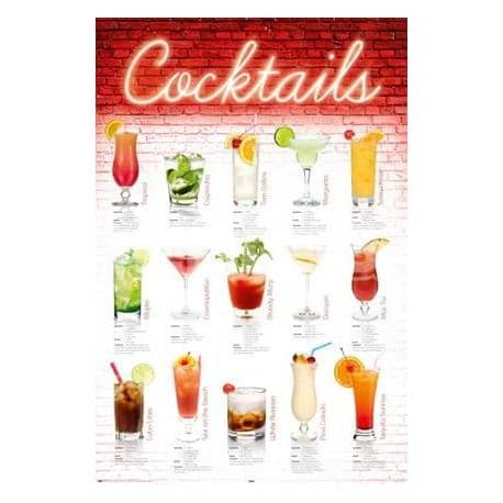 Poster Coktails