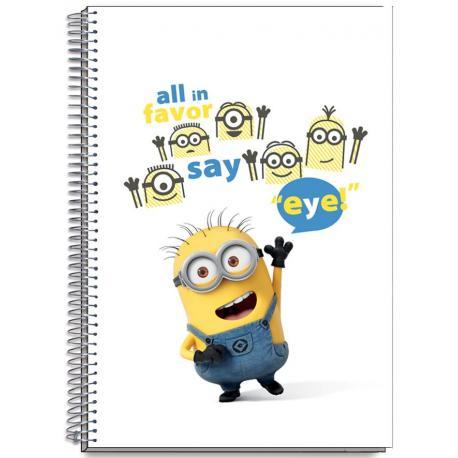 Cuaderno Tapa Dura A6 Minions