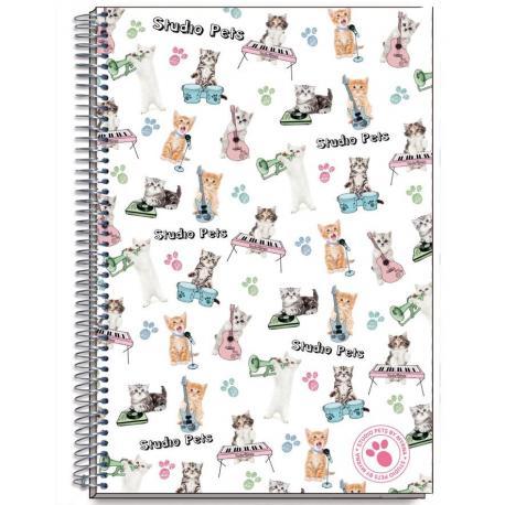 Cuaderno Tapa Dura A4 Myrna New Cat