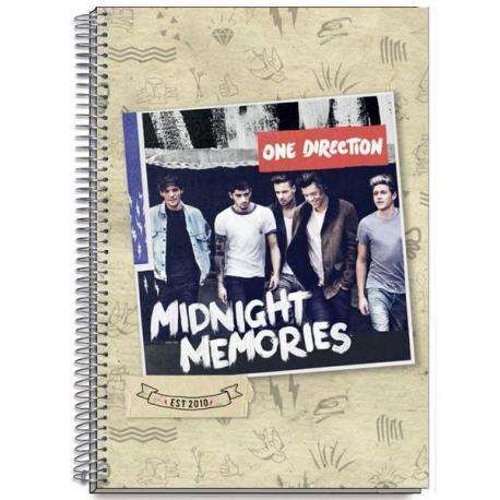 Libreta Tapa Dura A5 One Direction