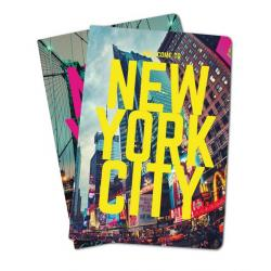 Pack De 2 Libretas Grapa A5 New York