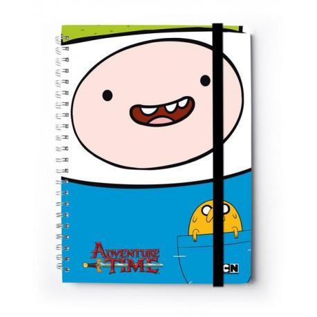 Cuaderno Tapa Dura A4 C. Premium Hora De Aventura