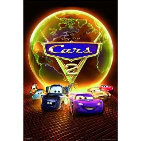 Poster Cars 2 Mundo