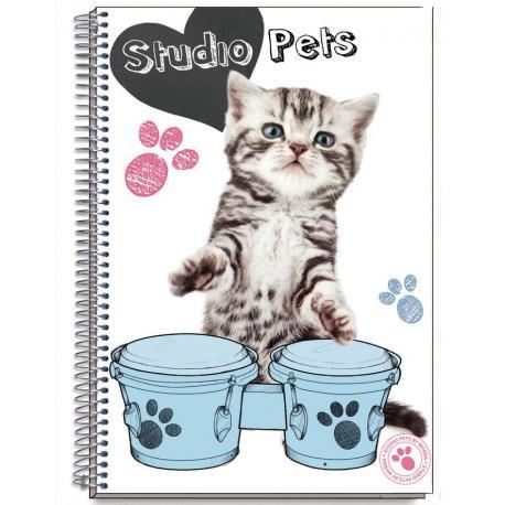Cuaderno Tapa Dura A4 Myrna New Cats