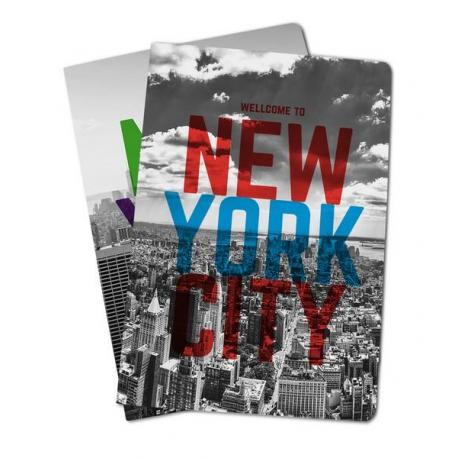 Pack De 2 Libretas Grapa A4 New York