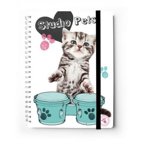 Cuaderno Tapa Dura A4 C. Premium Myrna Gato