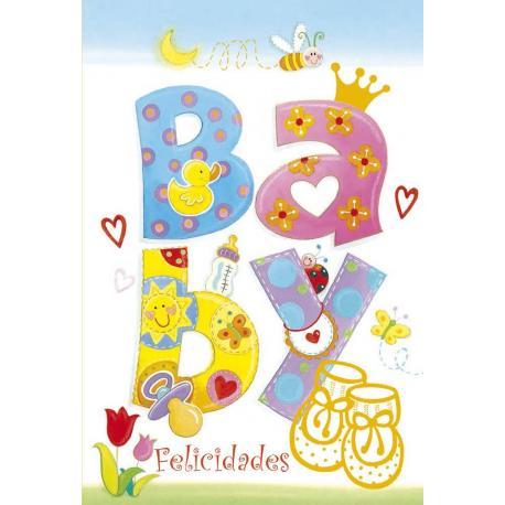 Tarjeta Felicitacion Baby 3