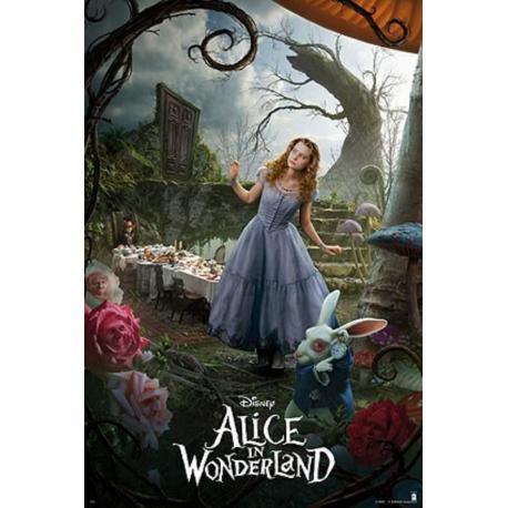 Poster Alicia En El Pais Maravillas