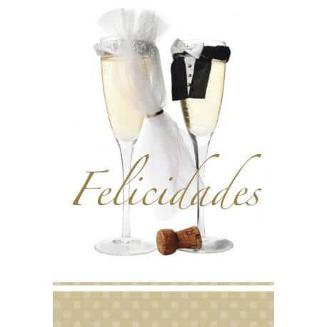 Tarjeta Felicitacion Recien Casados 3