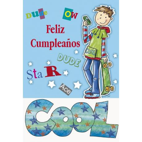 Tarjeta Felicitacion Feliz Cumpleaños