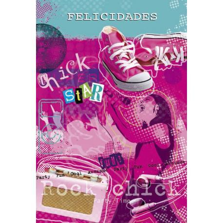 Tarjeta Felicitacion Felicidades