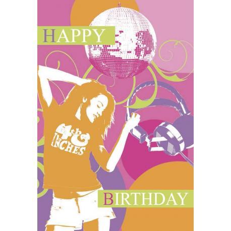 """Tarjeta Felicitacion """"Happy Birthay"""""""