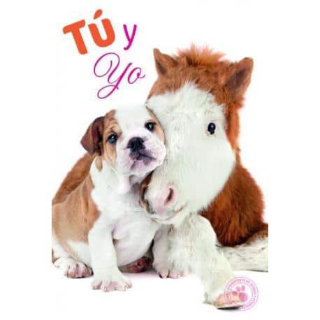 Tarjeta Felicitacion Tu Y Yo