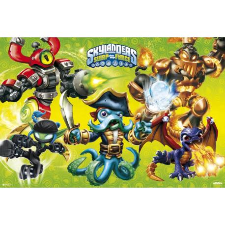 Poster Skylanders Swap Force-Hfe
