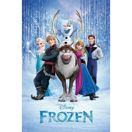 Poster Frozen Grupo