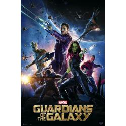 Poster Marvel Guardians Of The Galaxy Official