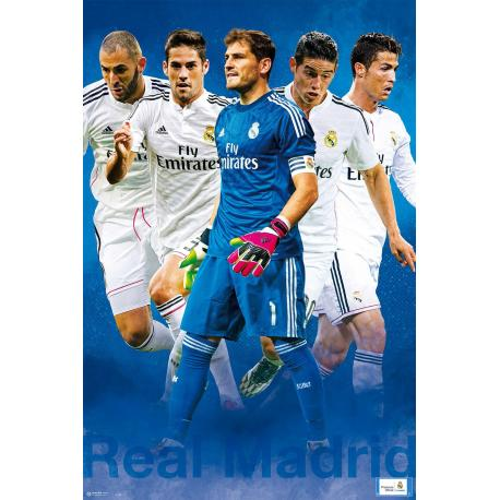 Poster Real Madrid Grupo 1 - 2014/2015