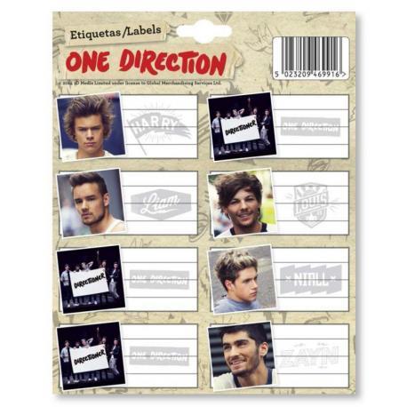 Etiquetas Gr/ One Direction