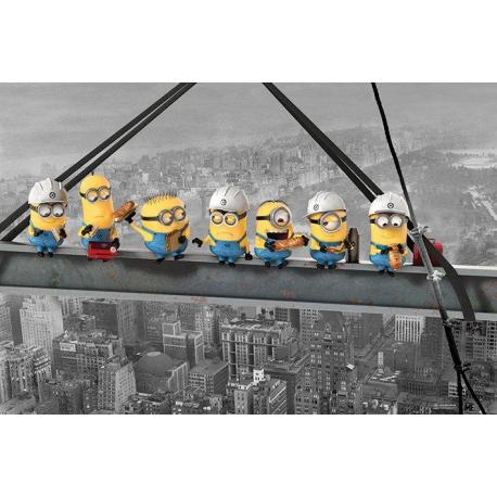 Maxi Poster Despicable Me (Minions Lunch On A Skyscraper)