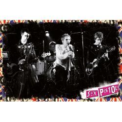Maxi Poster Sex Pistols live