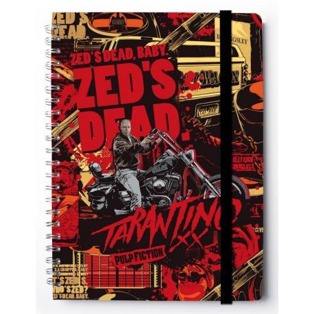 Cuaderno Tapa Dura A4 Premium Tarantino
