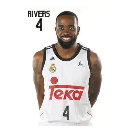 Postal Real Madrid Baloncesto Rivers
