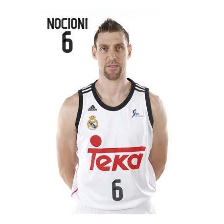 Postal Real Madrid Baloncesto Andres Nocioni