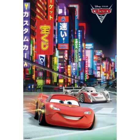 Poster Cars 2 Japon
