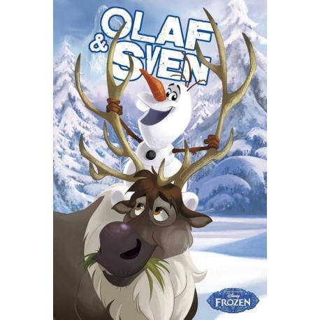 Maxi Poster Frozen Olaf Y Sven