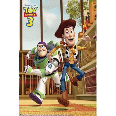 Poster Toy Story 3 A La Carrera
