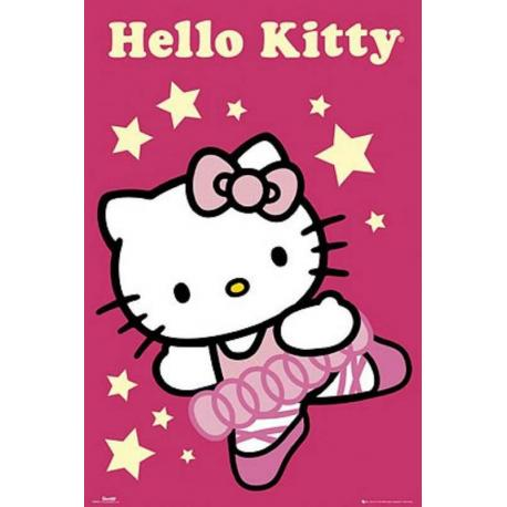 Poster Hello Kitty Bailarina