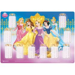 Vade Escolar Disney Princesas Palace Pets Tabla De Multiplicar