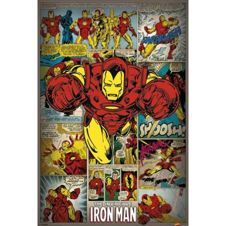 Poster Marvel Comics Iron Man