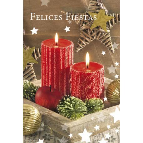 Tarjeta Felicitacion Felices Fiestas