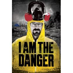 Maxi Poster Breaking Bad (I Am The Danger)