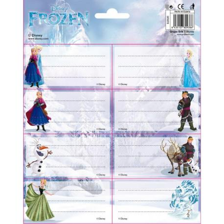 Etiquetas Gr/Labels -Frozen