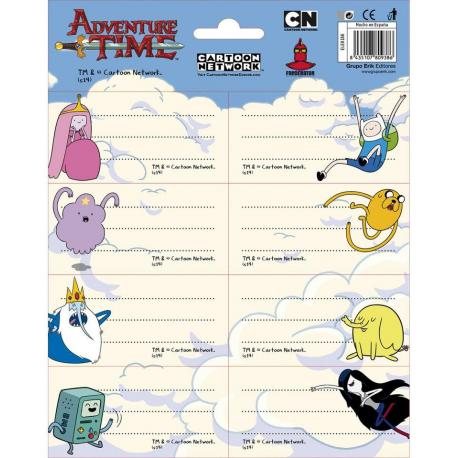 Etiquetas Gr/Labels -Adventure Time