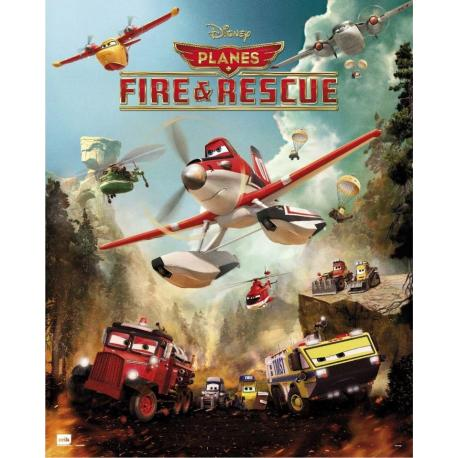 Mini Poster Planes Fire And Rescue