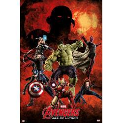Maxi Poster Marvel Los Vengadores Age Of Ultron