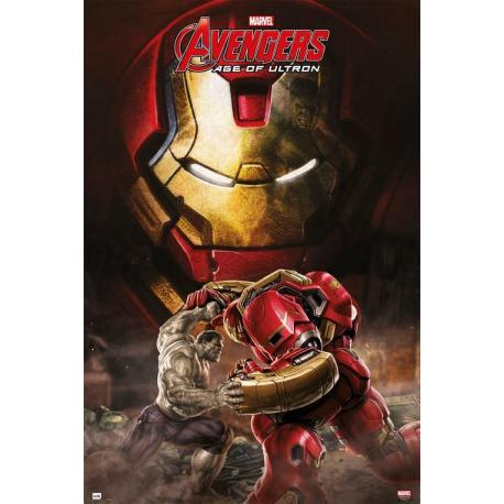 Maxi Poster Marvel Los Vengadores Age Of Ultron Hulkbuster
