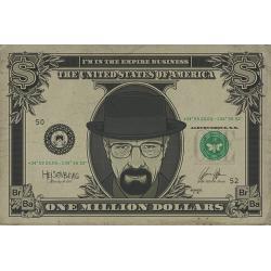 Maxi Poster Breaking Bad Heisenberg Dolar