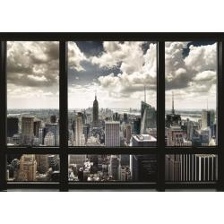 Poster Gigante Nueva York desde la ventana