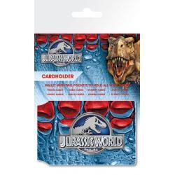 Tarjetero Jurassic World Logo