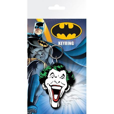 Llavero Batman Comic Joker Face