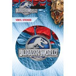 Pegatina de Vinilo Jurassic World Logo