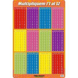 Lámina Educativa Multipliquem