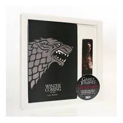 Set libreta/marcapaginas Juego de Tronos Stark